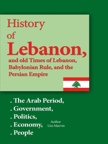 History of Lebanon, and old Times of Lebanon, Babylonian Rule and the Persian Empire