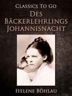Des Bäckerlehrlings Johannisnacht
