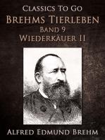 Brehms Tierleben. Säugetiere. Band 9
