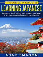 The Curiosity Guide To Learning Japanese for Beginners