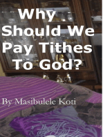 Why Should We Pay Tithes To God?