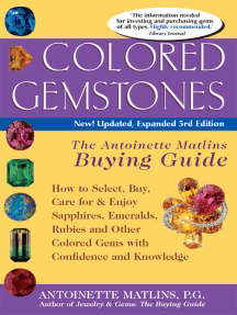 Colored Gemstones 3/E: The Antoinette Matlin's Buying Guide