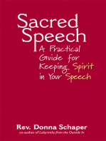 Sacred Speech