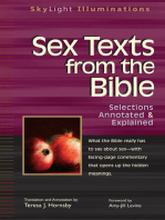 Sex Texts from the Bible