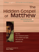 The Hidden Gospel of Matthew