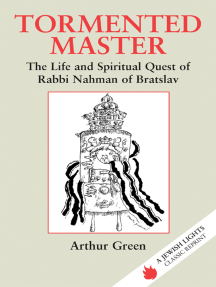 Tormented master: A life of Rabbi Nahman of Bratslav (Judaic studies series)