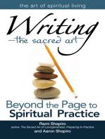 Writing—The Sacred Art