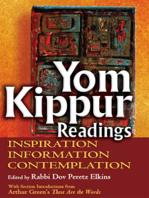 Yom Kippur Readings: Inspiration, Information and Contemplation