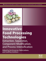 Innovative Food Processing Technologies: Extraction, Separation, Component Modification and Process Intensification