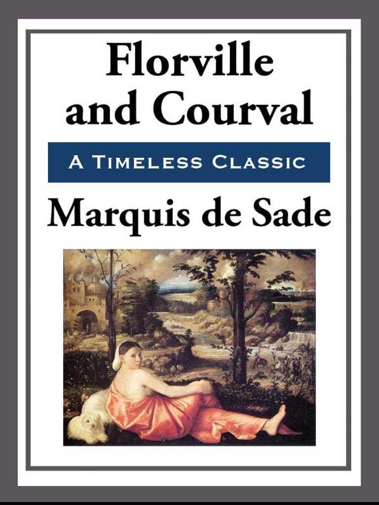 Florville And Courval By Marquis De Sade Read Online