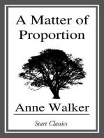 A Matter of Proportion