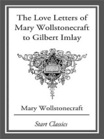 Love Letters of Mary Wollstonecraft to Gilbert Imlay