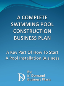 A Complete Swimming Pool Construction Business Plan: A Key Part Of How To  Start A Pool Installation Business by In Demand Business Plans - Read Online