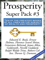 Prosperity Super Pack #3: Ten of the greatest books of all times on the subject of wealth and prosperity