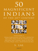 50 Magnificent Indians Of The 20th Century