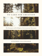 To Care for Creation