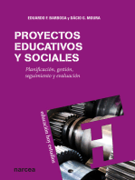 Proyectos educativos y sociales: Planificación, gestión, seguimiento y evaluación