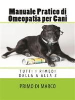 Manuale Pratico di Omeopatia per Cani