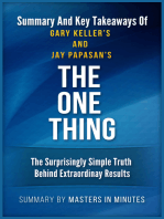 The ONE Thing | Summaries & Key Takeaways In 20 Minutes