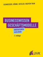 Businesswissen Geschäftsmodelle