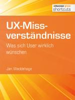 UX-Missverständnisse