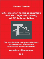 Vermögensaufbau und Vermögenssicherung mit Wohnimmobilien