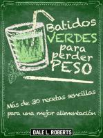 Batidos verdes para perder peso