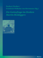 Die Gottesfrage im Denken Martin Heideggers
