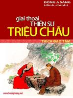 Giai thoại Thiền sư Triệu Châu.