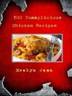 300 Yummylicious Chicken Recipes