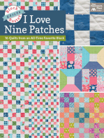 Block-Buster Quilts - I Love Nine Patches
