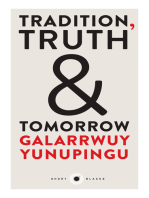 Tradition, Truth and Tomorrow