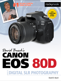 David Busch's Canon EOS 80D Guide to Digital SLR Photography by