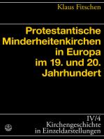 Protestantische Minderheitenkirchen in Europa im 19. und 20. Jahrhundert