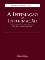 A Intimação da Informação