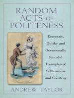 Random Acts of Politeness