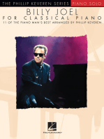 Billy Joel for Classical Piano: The Phillip Keveren Series