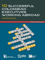 10 Successful Colombian Executives Working Abroad: A Business English Book