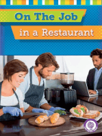 On the Job in a Restaurant