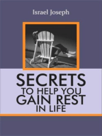 Secrets To Help You Gain Rest In LIFE