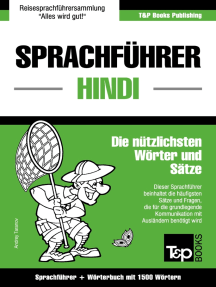 Sprachführer Deutsch-Hindi und Kompaktwörterbuch mit 1500 Wörtern