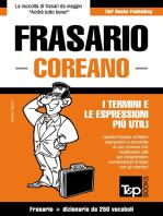 Frasario Italiano-Coreano e mini dizionario da 250 vocaboli