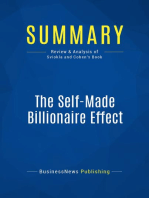 The Self-Made Billionaire Effect (Review and Analysis of Sviokla and Cohen's Book)