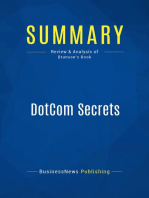 DotCom Secrets (Review and Analysis of Brunson's Book)