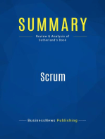 Scrum (Review and Analysis of Sutherland's Book)