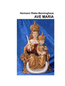 Ave Maria: Bilder und Lieder