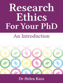 Research Ethics For Your PhD: An Introduction: PhD Knowledge, #5