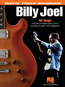 Billy Joel - Guitar Chord Songbook: 6 inch. x 9 inch.