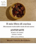 84 Ricette d'Antipasti della cucina tradizionale Siciliana