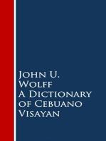A Dictionary of Cebuano Visayan